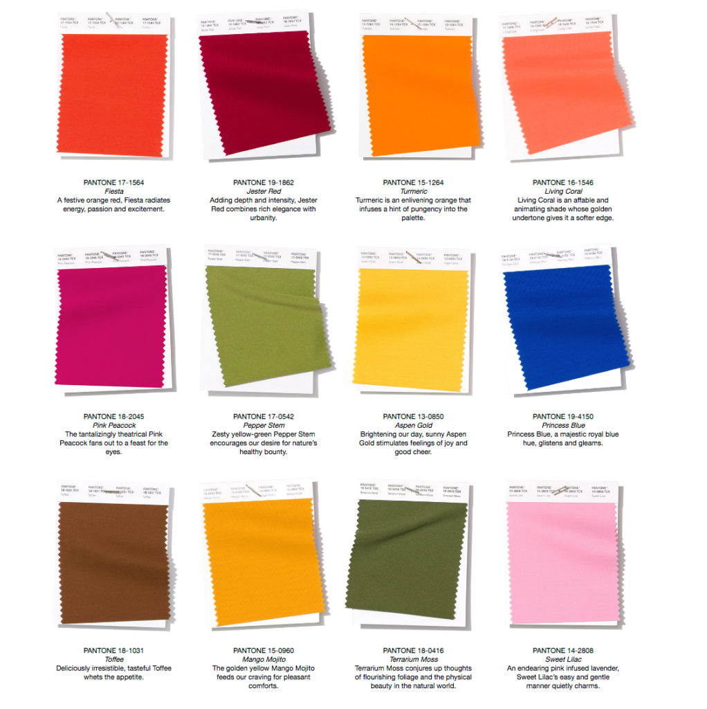 Strategic Shopping with PANTONE Color knowledge -